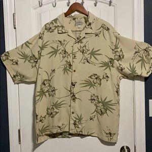 Tommy Bahama Hawaiian Relax  Floral Shirt